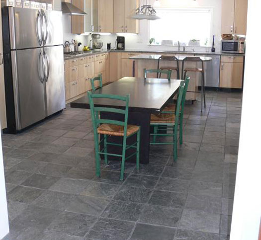 Grey Slate Floor Option