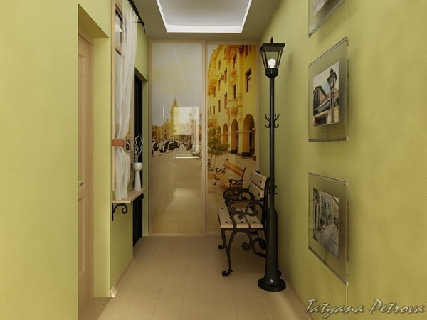 Hallway with Good Paint