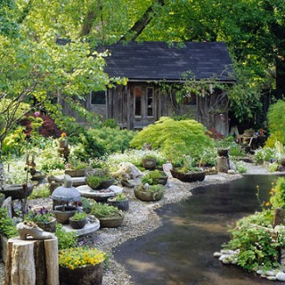 Image of: Home Landscaping Ideas for Backyards