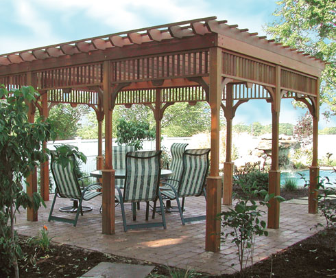Image of: Ideas for Garden Pergola Design