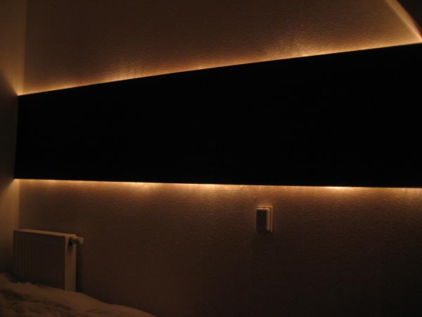 Indirect Lighting Wall Idea