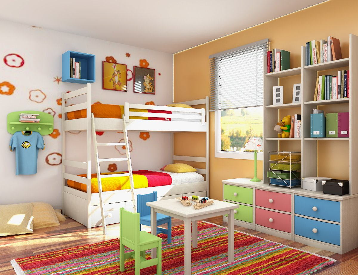 Image of: Kids Room Design