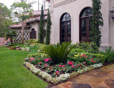 Image of: Landscape Design with Mediterranean Style