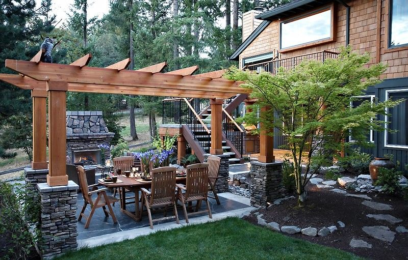 Image of: Landscape Idea for Small Backyard