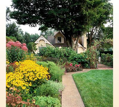 Image of: Landscaping Design For House