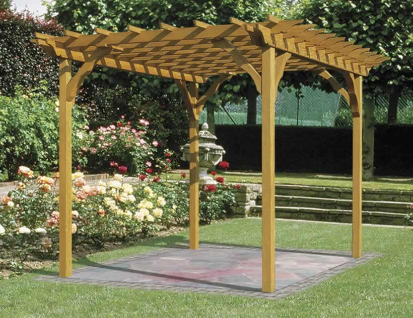 Image of: Large Freestanding Pergola