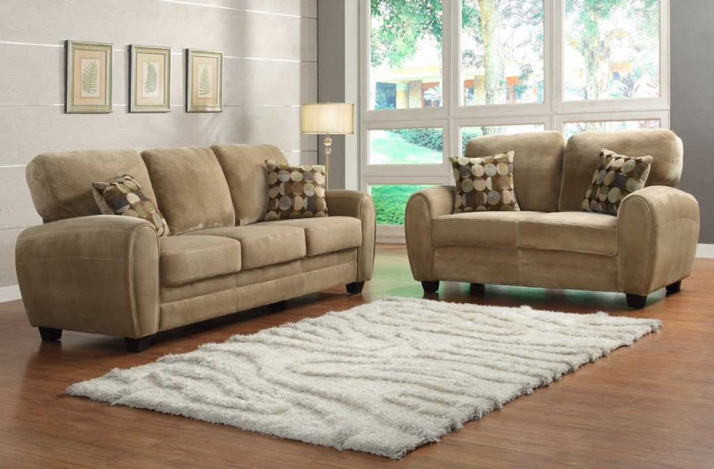 Image of: Light Brown Living Room Sofa