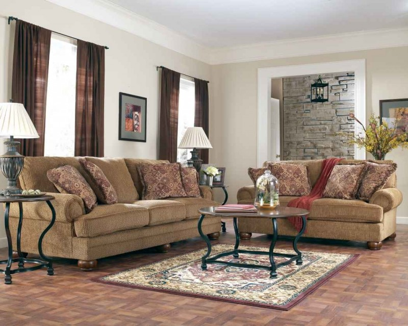 Image of: Light Brown Sofa for Living Room
