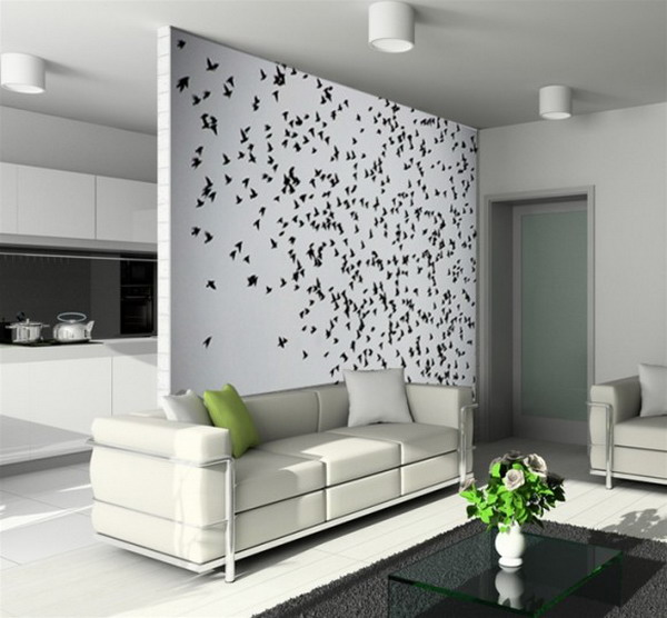 Image of: Living Room Wall Decorating Ideas