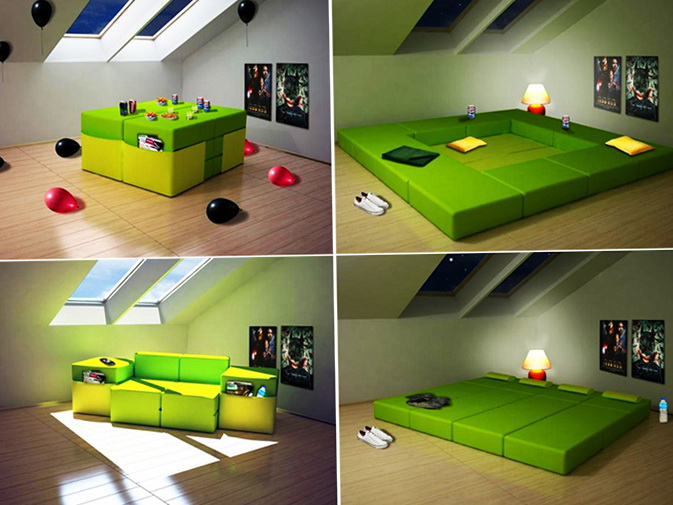 Modern Furniture for Small Room Interior