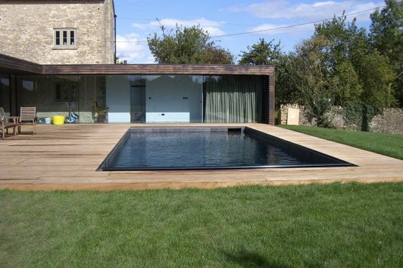 Image of: Modern Natural Swimming Pool