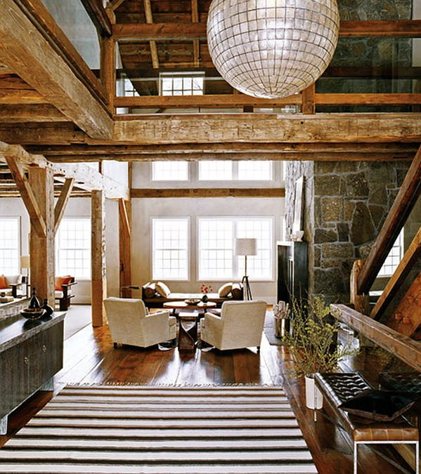 Modern Rustic Interior Design Luxury