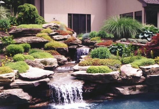 Image of: Oasis Backyard Garden