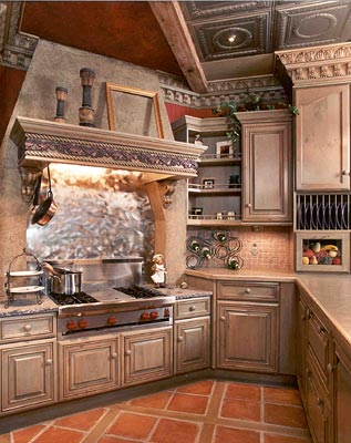 Old World Kitchen Decor