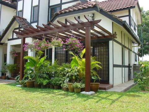 Pergola Design Idea for Garden