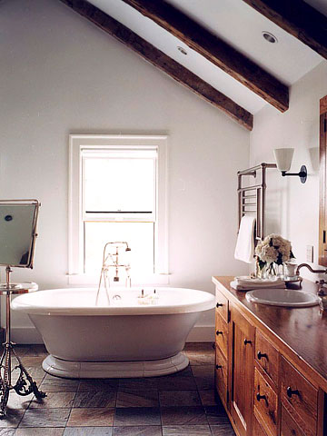 Image of: Rustic Country Bath