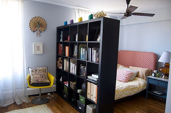 Separate a Room with a Bookshelf
