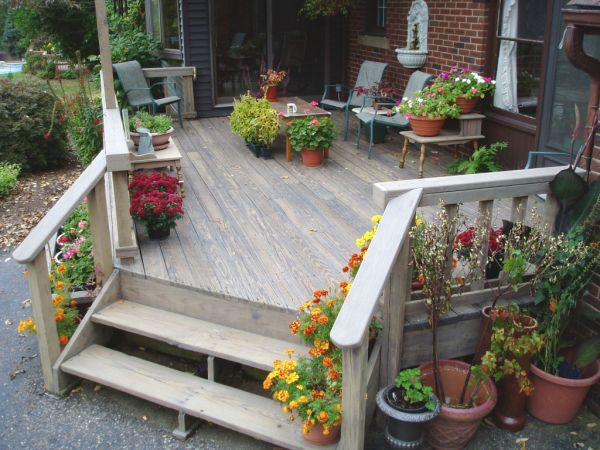 Small Home Deck Design Decor