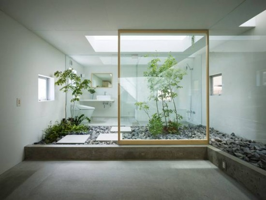 Image of: Small Japanese Garden Room House