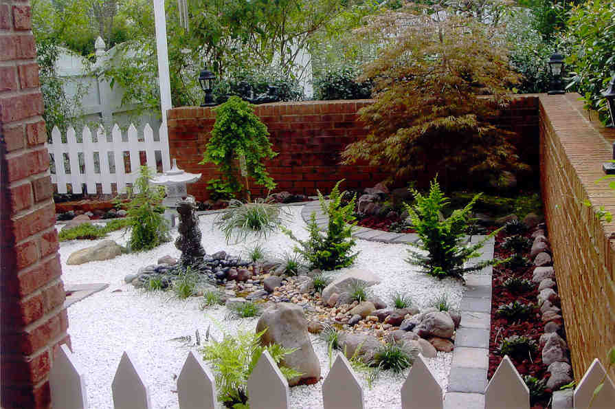 Image of: Small Japanese Garden