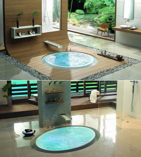 Image of: Spa Bathroom