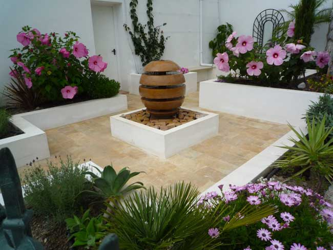 Spanish Courtyard Garden