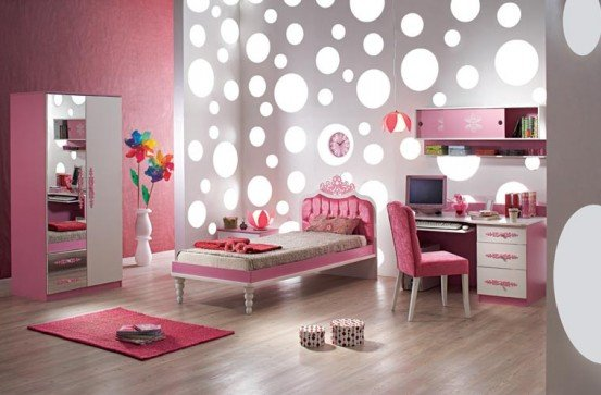 Image of: Special Lovely Girls Bedroom Design