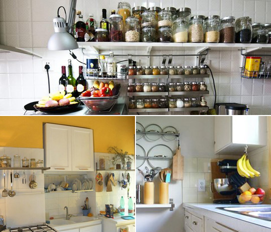 Image of: Storage Ideas for Small Kitchen
