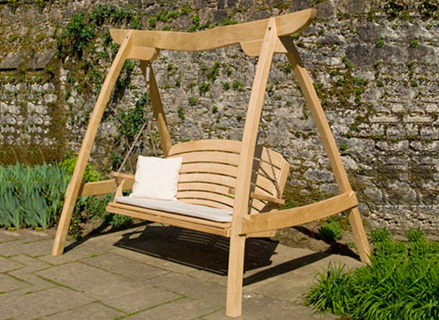 Image of: Swing for Garden Seating