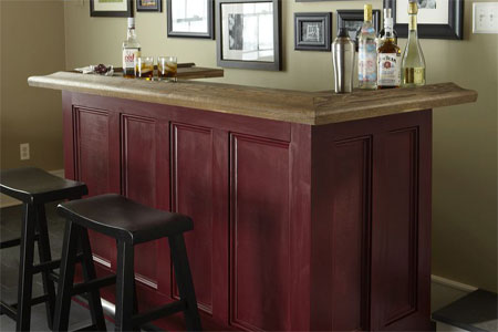 Image of: This Old House Bar Plans
