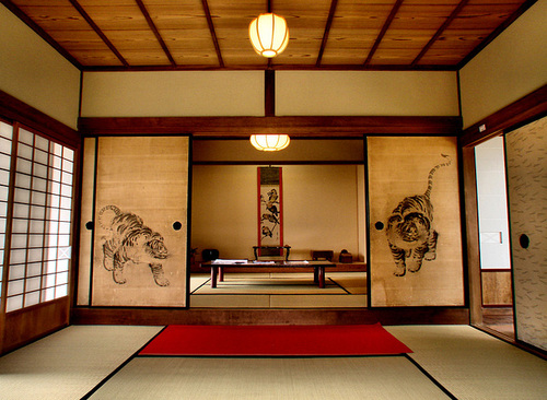 Image of: Traditional Japanese House Design