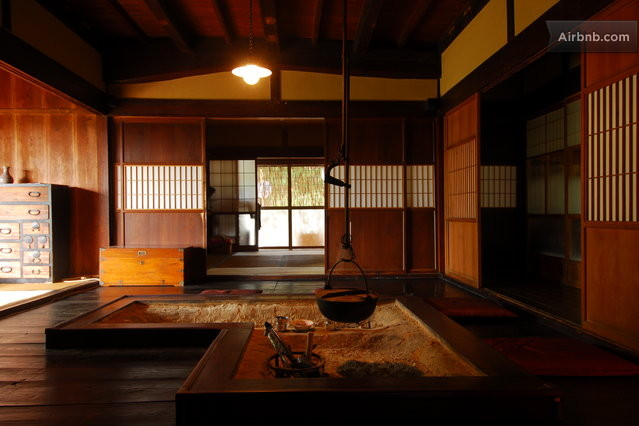 Image of: Traditional Japanese House Interior
