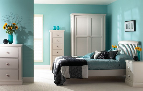 Turquoise Interior Design for Bedroom