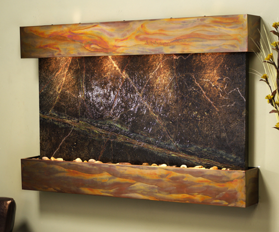 Image of: Wall Indoor Fountain