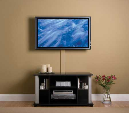 Image of: Wall Mounted TV Ideas
