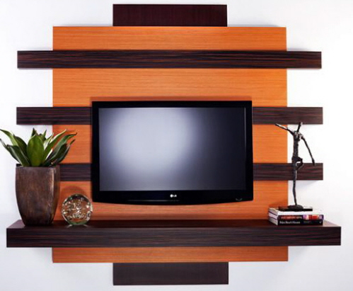 Image of: Wall Mounted TV Stands