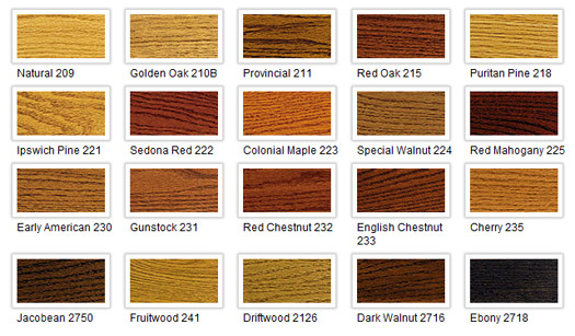 Wood Floor Stain Colors