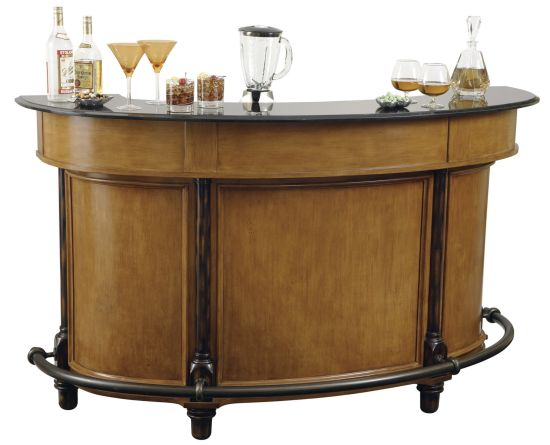 Image of: Wooden Bar Counter for Home