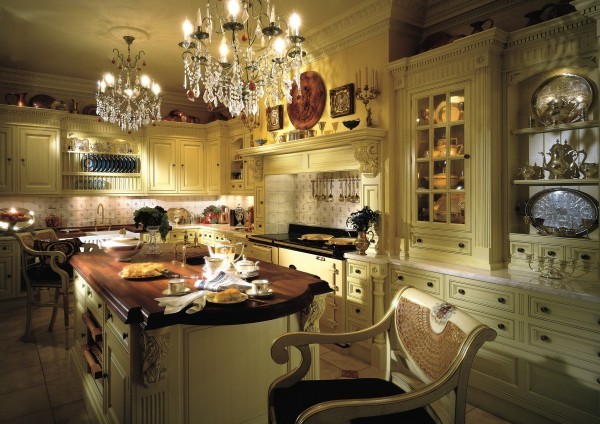 Image of: Cassic Victorian Kitchen Furniture Decor