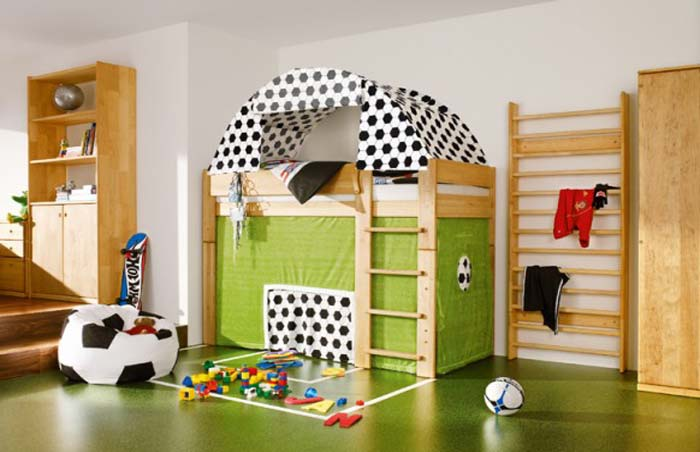 Image of: Sport Theme for Kids Room