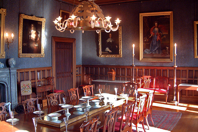 Dining Room in Gothic Style