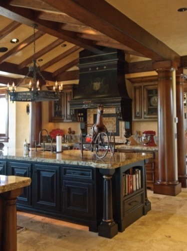 Image of: Gothic Kitchen Decor