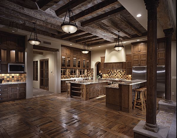 Image of: Kitchen Tuscany Design