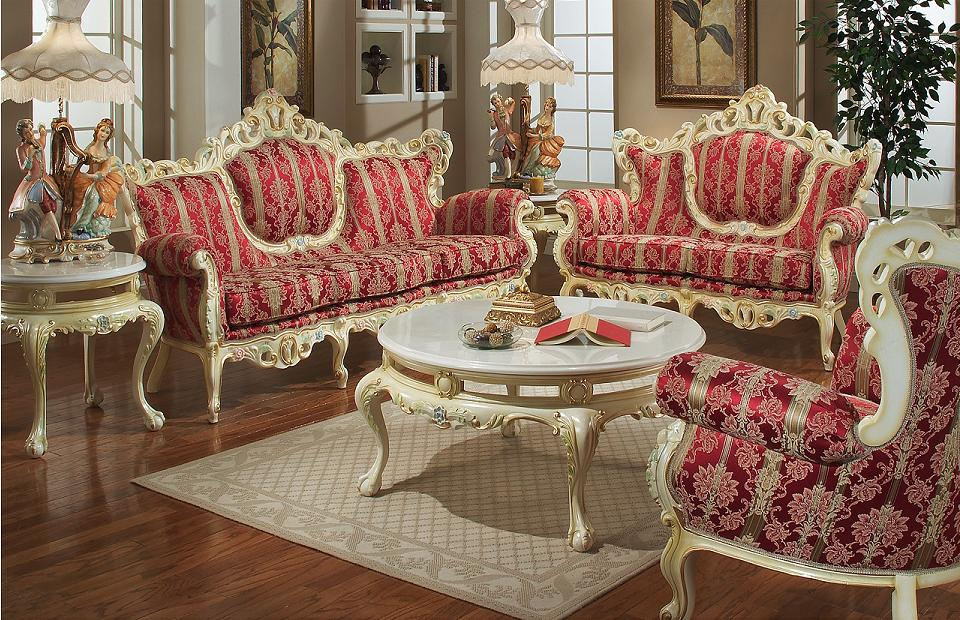 Red Victorian Furniture
