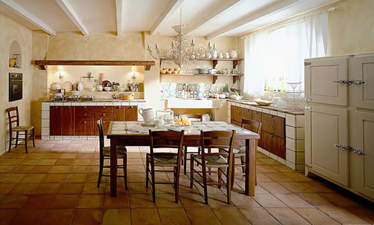 Tuscany Kitchen Decorating Idea