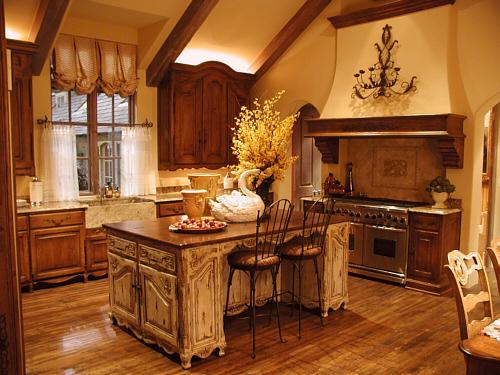 Image of: Tuscany Kitchen Interior Designs