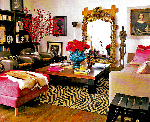 Image of: bohemian chic style decor