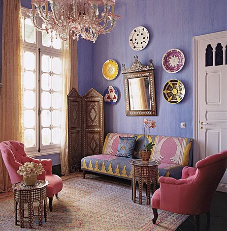 Image of: bohemian interior design