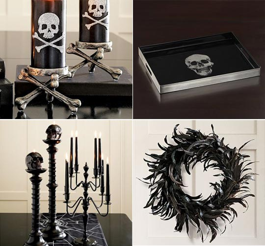gothic accessories for apartment decor