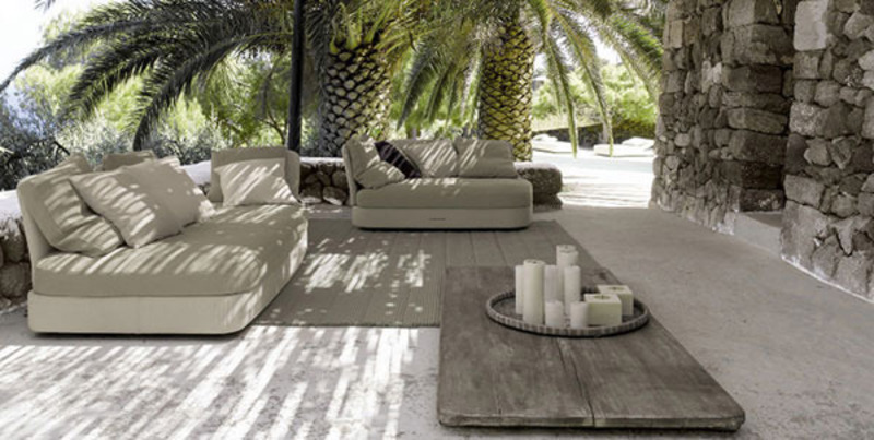 Image of: patio flooring design idea
